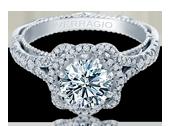 VENETIAN-5050R - a Verragio engagement ring.