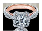 VENETIAN-5064R-2WR - a Verragio engagement ring.