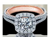 VENETIAN-5067CU-2WR - a Verragio engagement ring.