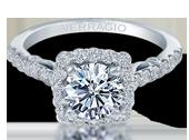 INSIGNIA-7047 - a Verragio engagement ring.