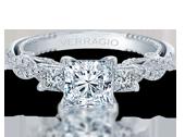 INSIGNIA-7074P - a Verragio engagement ring.