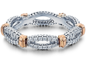 PARISIAN-W105 - a Verragio wedding ring.