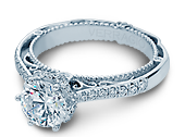 VENETIAN-5052 - a Verragio engagement ring.