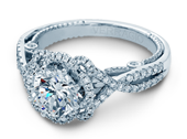 INSIGNIA-7087R - a Verragio engagement ring.