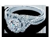 INSIGNIA-7087R - a Verragio engagement ring.