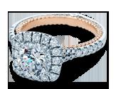 COUTURE-0434CU-TT - a Verragio engagement ring.