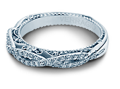 VENETIAN-5005W - a Verragio wedding ring.