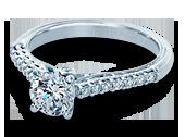Classic-901R6 - a Verragio engagement ring.