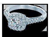 Classic-903CU6 - a Verragio engagement ring.