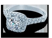 Classic-903CU7 - a Verragio engagement ring.