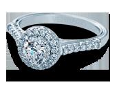 Classic-903R6 - a Verragio engagement ring.