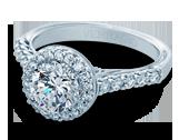 Classic-903R7 - a Verragio engagement ring.