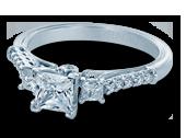 Classic-904P5 - a Verragio engagement ring.