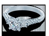 Classic-905R6 - a Verragio engagement ring.