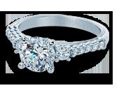 Classic-905R7 - a Verragio engagement ring.