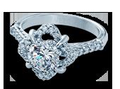 Classic-907R7 - a Verragio engagement ring.
