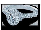 Classic-908OV - a Verragio engagement ring.