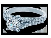 Renaissance-910R7 - a Verragio engagement ring.