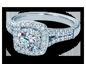 Classic-913CU7 - a Verragio engagement ring.