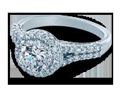 Classic-913R7 - a Verragio engagement ring.