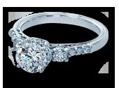 Classic-917R7 - a Verragio engagement ring.