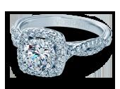 Classic-918CU7 - a Verragio engagement ring.