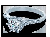 Classic-938R7 - a Verragio engagement ring.