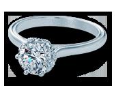 Classic-939R7 - a Verragio engagement ring.