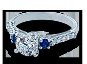 Classic-C905R7 - a Verragio engagement ring.