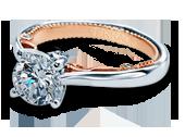INSIGNIA-7075-TT - a Verragio engagement ring.