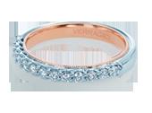 Classic-901W-TT - a Verragio wedding ring.