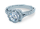 VENETIAN-5050R - a Verragio engagement ring.