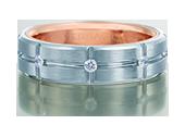 VWD-6927 - a Verragio mens ring.