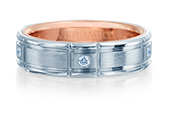 VWD-6928 - a Verragio mens ring.