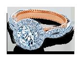 VENETIAN-5068R-2WR - a Verragio engagement ring.