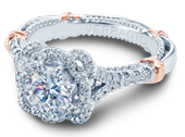 PARISIAN-139R - a Verragio engagement ring.
