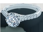 CLASSIC-943-R6.5 - a Verragio engagement ring.