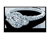 INSIGNIA-7049D - a Verragio engagement ring.