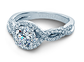 INSIGNIA-7040 - a Verragio engagement ring.