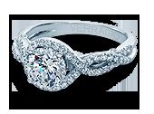 INSIGNIA-7040 - a Verragio engagement ring.