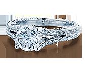 INSIGNIA-7063 - a Verragio engagement ring.