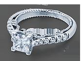 INSIGNIA-7066P - a Verragio engagement ring.