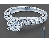 INSIGNIA-7066R - a Verragio engagement ring.