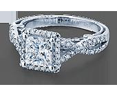 INSIGNIA-7070P - a Verragio engagement ring.