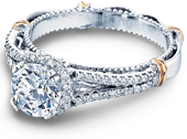 PARISIAN-107R - a Verragio engagement ring.
