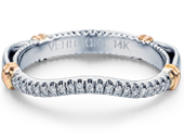 PARISIAN-117W - a Verragio wedding ring.