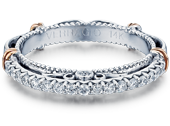 PARISIAN-121W - a Verragio wedding ring.