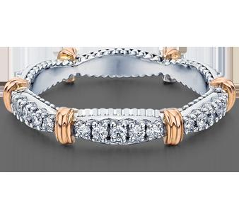 PARISIAN-W102 - a Verragio wedding ring.