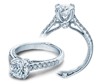 COUTURE-0412 - a Verragio engagement ring.