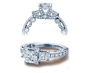 PARADISO-3007P - a Verragio engagement ring.